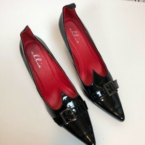 Women's Deluxe Witch Shoes Size 9